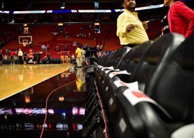 American Airlines Arena, Courtside Seats