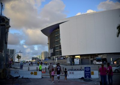 American Airlines Arena, Exterior
