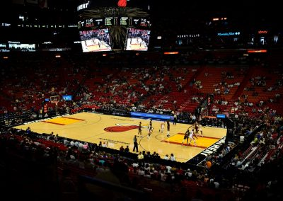 American Airlines Arena, Lower Bowl View