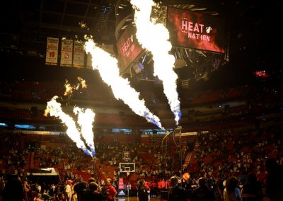 American Airlines Arena, Miami Heat Player Intros