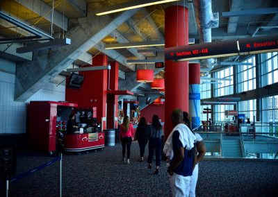 American Airlines Arena, Upper Level Concourse