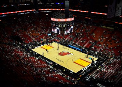 American Airlines Arena, View from 300 Level