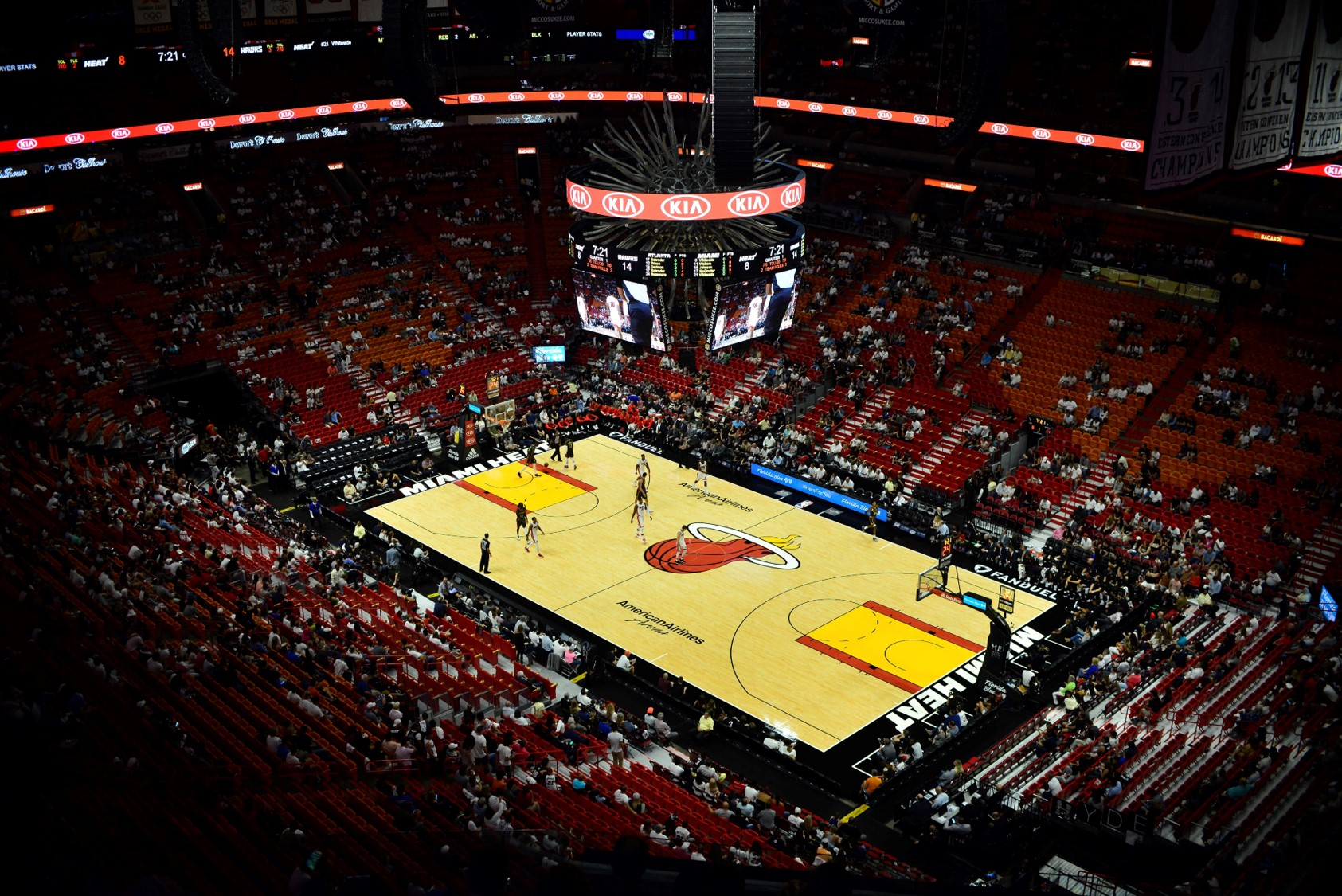 Americanairlines Arena Miami Heat Stadium Journey