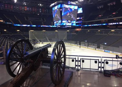 Cannon Guards Nationwide Arena