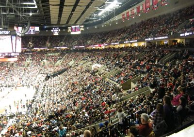 Moda Center, Portland Trail Blazers fans packing the house