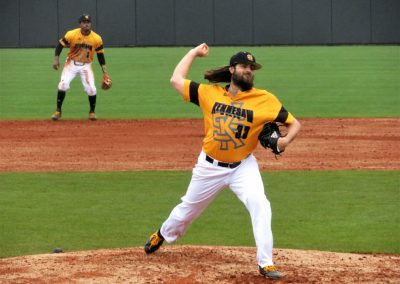 Owl Pitcher Lets it Fly