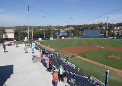 Fowler Park and Cunningham Field - Third Base Seats