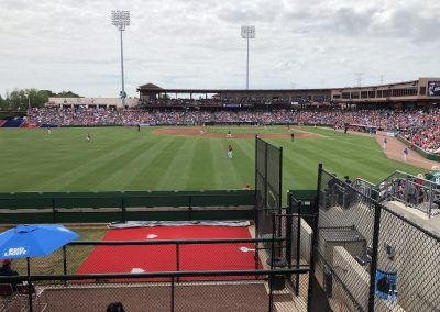 Spectrum Field - View from Outfield Party Deck