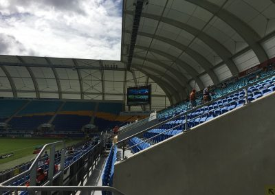 Cbus Super Stadium - Corner Video Board