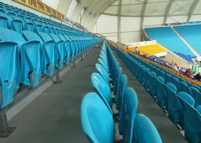 Cbus Super Stadium Seat and Row Width