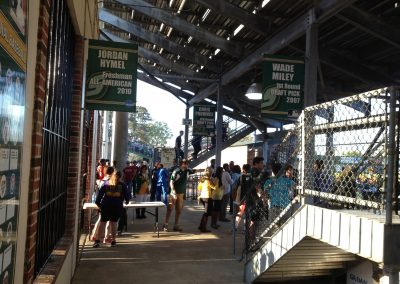 Concourse Under the Stands at Alumni Field