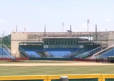 Clay Gould Ballpark Grandstand