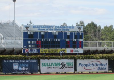 Mahaney Diamond Scoreboard