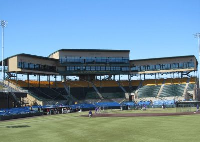 Eck Stadium - View from Coleman Hill