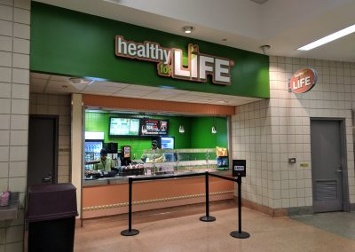 Healthy for Life Stand at Quicken Loans Arena