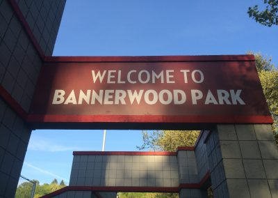 Welcome to Bannerwood Baseball Park