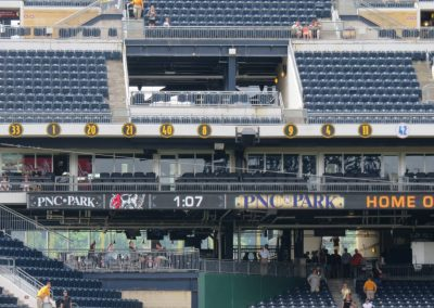 Retired Numbers at PNC Park