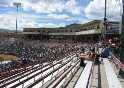 Security Service Field - View from third base seating area