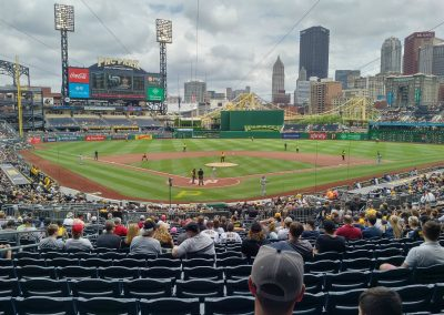 View from Home Plate at PNC Park