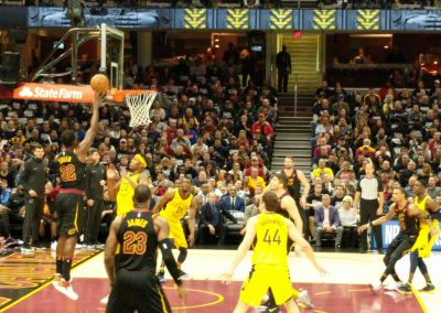 Game Action at Quicken Loans Arena