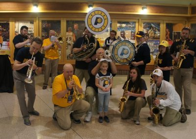 Bankers Life Fieldhouse, Indiana Pacers band