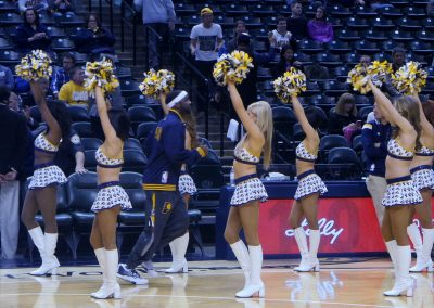 Bankers Life Fieldhouse, Indiana Pacers cheerleaders