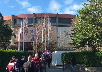 Approaching Brookvale Oval