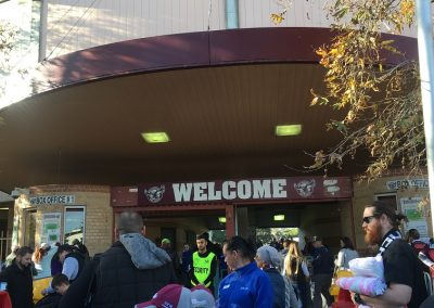 Brookvale Oval Security Check