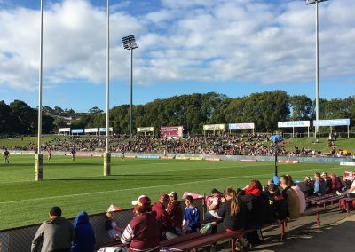 Brookvale Oval Behind Try Line