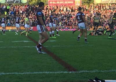Brookvale Oval Match Action