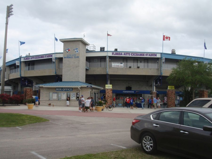 Florida Auto Exchange Stadium Exterior