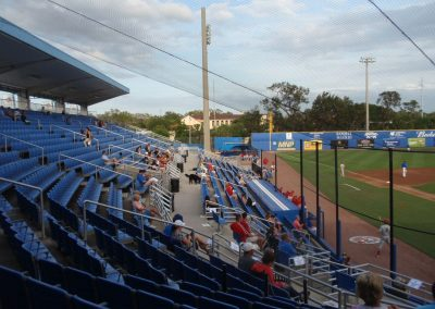 Third Base Seats at Florida Auto Exchange Stadium