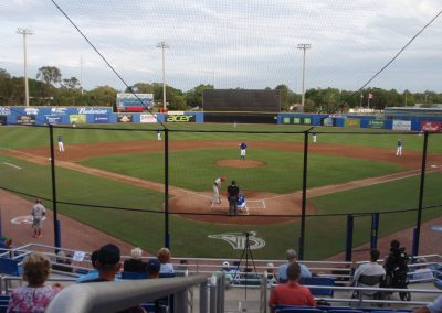 Florida Auto Exchange Stadium - Home of the Dunedin Blue Jays