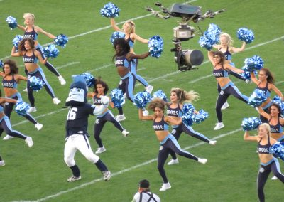 BMO Field, Toronto Argonauts cheerleaders