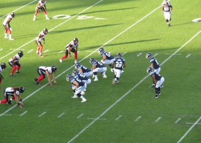 BMO Field, Toronto Argonauts in action