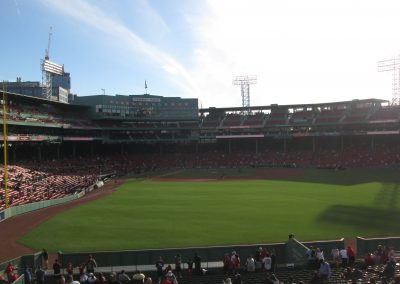 Fenway Park From the Bleachers