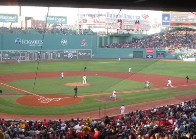 Fenway Park From Behind Home Plate