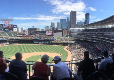 Target Field Panaoamic View