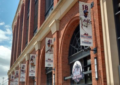 Citi Field Hall of Fame Banner