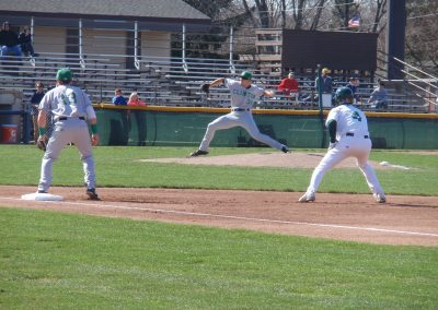 Pohlman Field, Beloit Snappers Going for a Steal