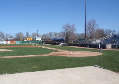 Pohlman Field, Home Plate