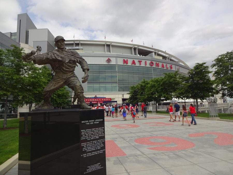 Entrance to Nationals Park