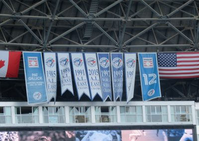 Blue Jays Banners at Rogers Centre