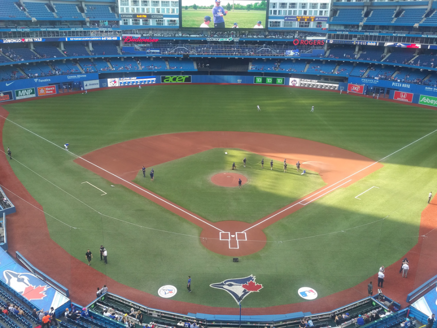 Rogers Centre From Behind Home Plate