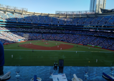Centre Field View at Rogers Centre
