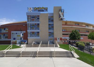 Isotopes Park Entrance
