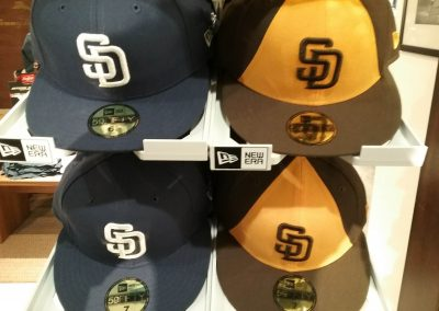 Padres Colors Past and Present