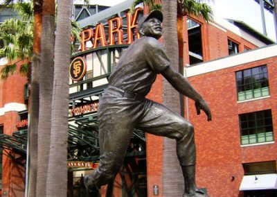 AT&T Park Willie Mays Statue