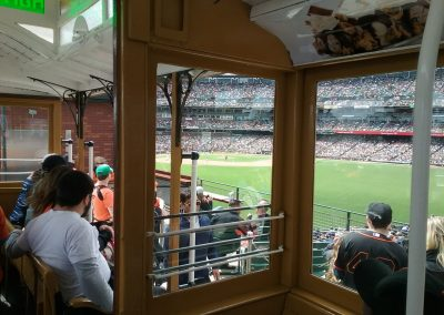 The View Inside The Cable Car