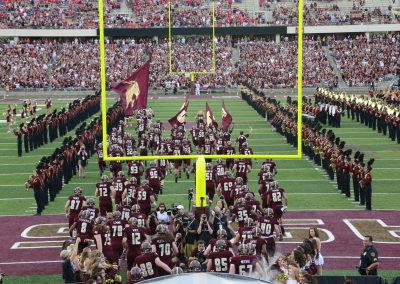 Texas State Takes the Field at Bobcat Stadium